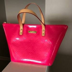 Louis Vuitton Vernis Bellevue PM Rose Pop
